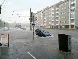 Flood in Helsinki