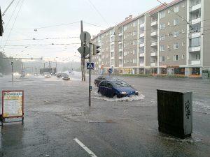 Flood in Helsinki